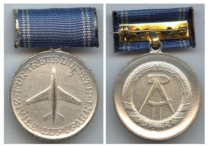 Medaille für treue Dienste der zivilen Luftfahrt Silber or0163
