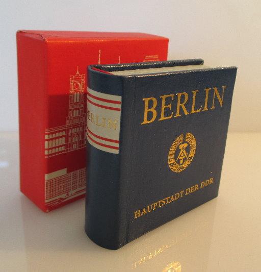 Minibuch: Berlin Hauptstadt der DDR bu0095