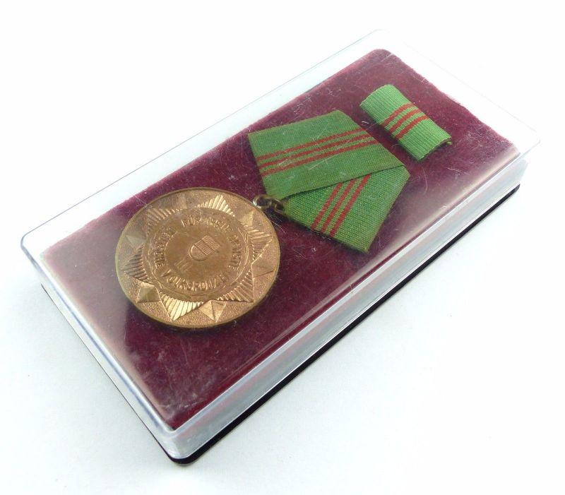#e6025 Medaille für treue Dienste bewaffnete Organe des MdI Nr. 143a Stufe III