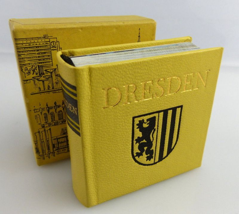 Minibuch: Dresden Offizin Andersen Nexö Leipzig 1977 Verlag Zeit im Bild e081