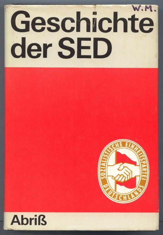 Geschichte der SED 1978 vom Dietz Verlag Berlin Buch0411