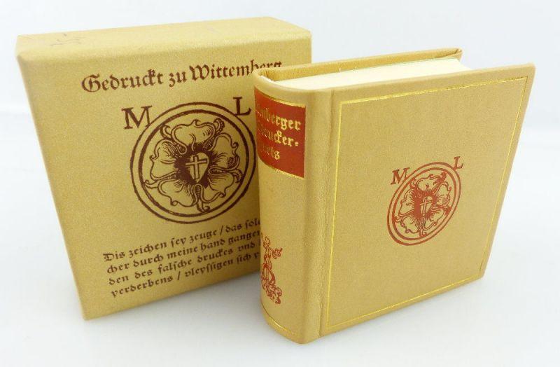 Minibuch: Wittenberger Buchdruckersignets Offizin Andersen Nexö e820
