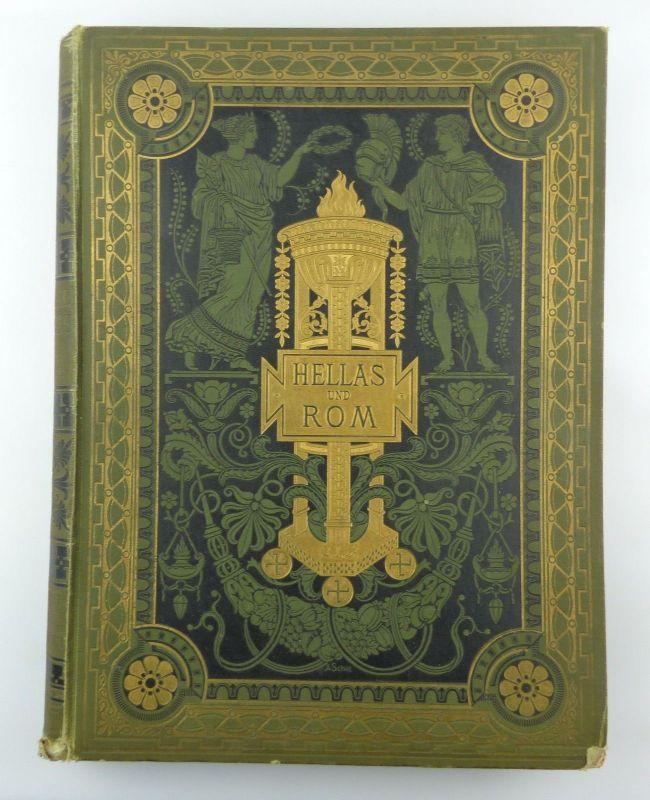 #e8737 Buch: Hellas und Rom Kulturgeschichte von Jakob von Falke