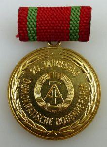 Erinnerungsmedaille 20. Jahrestag demokratische Bodenreform, Orden3178