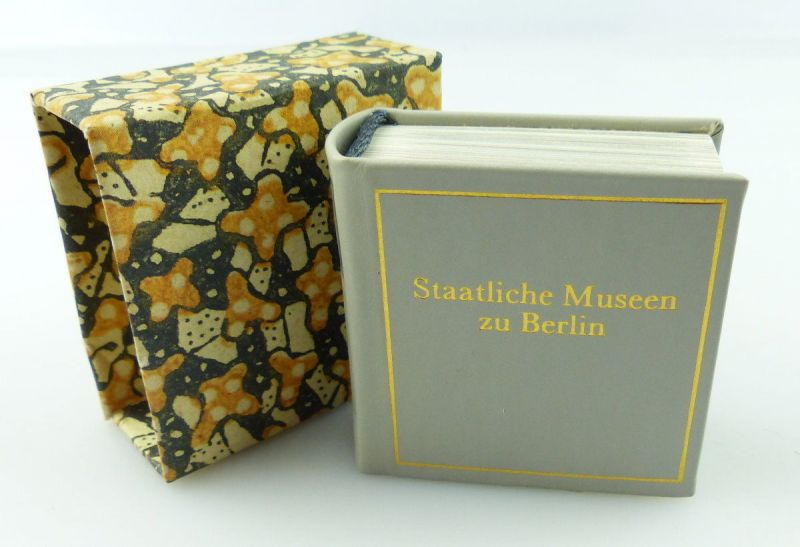 Minibuch : Staatliches Museum Berlin Graphischer Großbetrieb Leipzig 1987 /r647