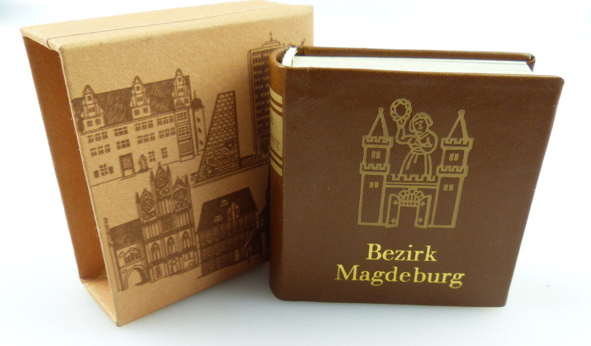 Minibuch : Bezirk Magdeburg, Verlag Zeit im Bild Dresden 1984  /r599