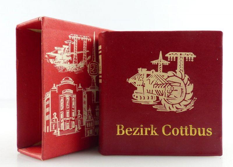 Minibuch : Bezirk Cottbus, Verlag Zeit im Bild Dresden 1984 /r595
