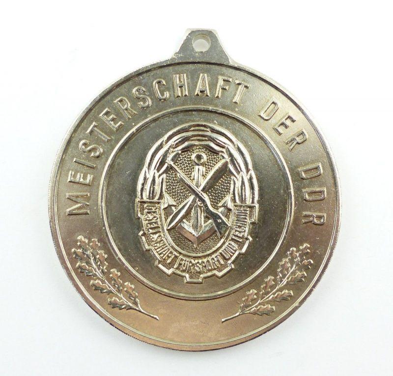 E9351 GST Medaille Meisterschaft der DDR silberfarben