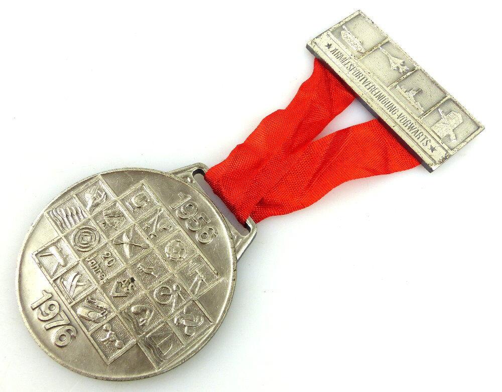Medaille: 20 Jahre ASV Armeesportvereinigung Vorwärts 1956-1976 DTSB DDR e1733