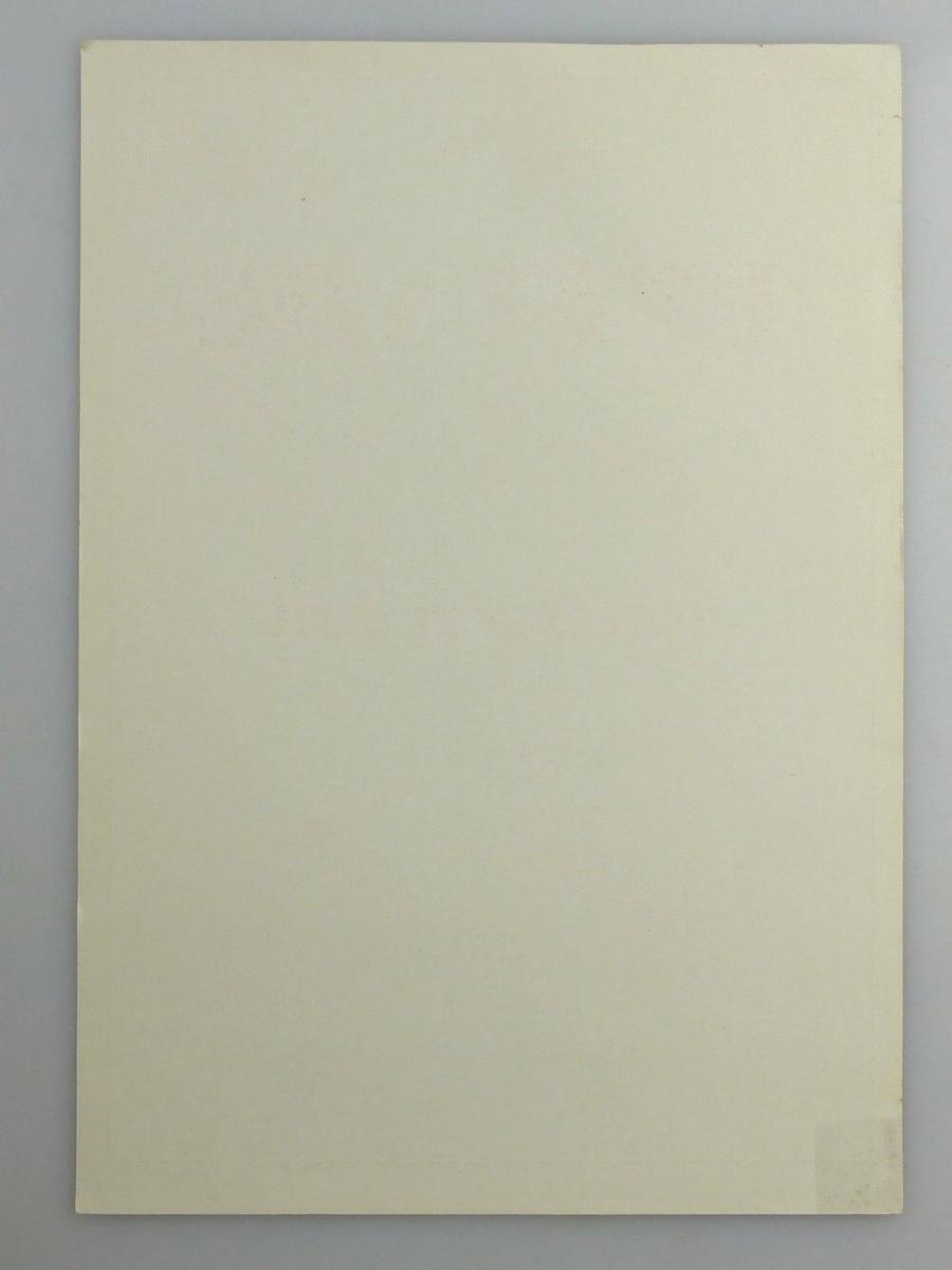 Blanco Urkunde: Bestes Kollektiv im sozialistischen Wettbewerb, so258 3