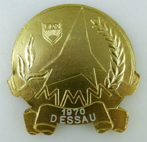 Medaille: FDJ MMM 1970 Dessau, XIII Zu Ehren Lenins Messe Meister von, Orden1649