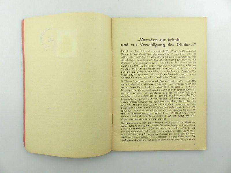 Original Leistungsbuch Deutscher Sportausschuss mit Eintragungen und Urkunde 6