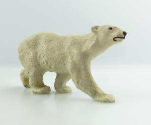 E9414 Altes Masse Tier Eisbär wohl Lineol 50er Jahre