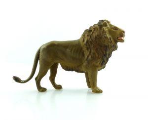 E9404 Lineol Löwe wohl 50er Jahre Lineol Tier Figur