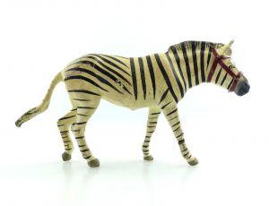 E9401 Altes Lineol Zebra wohl 50er Jahre Lineol Tier Figur
