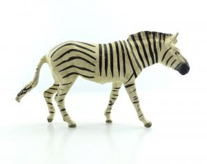 E9400 Altes Lineol Zebra wohl 50er Jahre Lineol Tier Figur