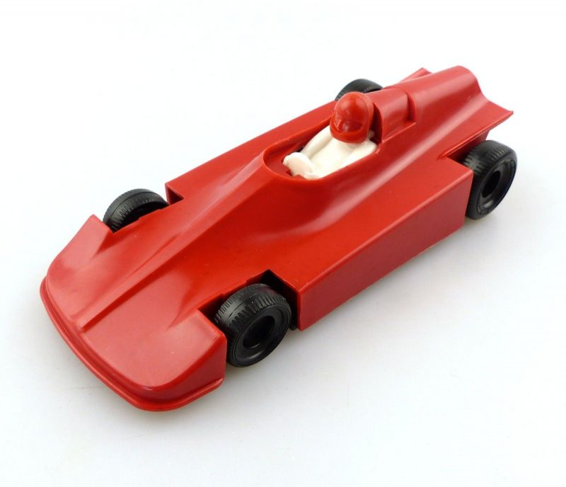 E9511 DDR Wartburg HTS 3 Melkus Schiebefahrzeug rot