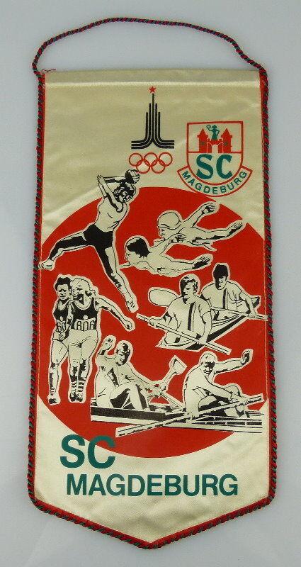 Wimpel: SC Magdeburg Olympische Spiele, Orden2162