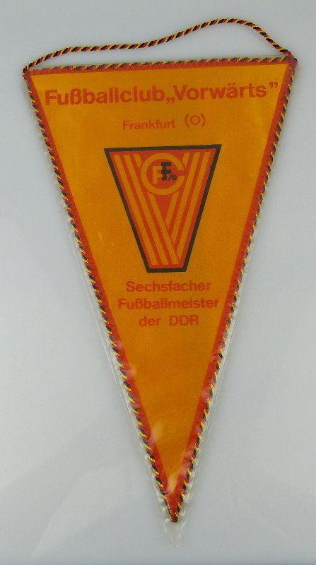 Wimpel: Fußballclub Vorwärts Frankfurt O. Sechfacher Fußballmeister d, Orden2159