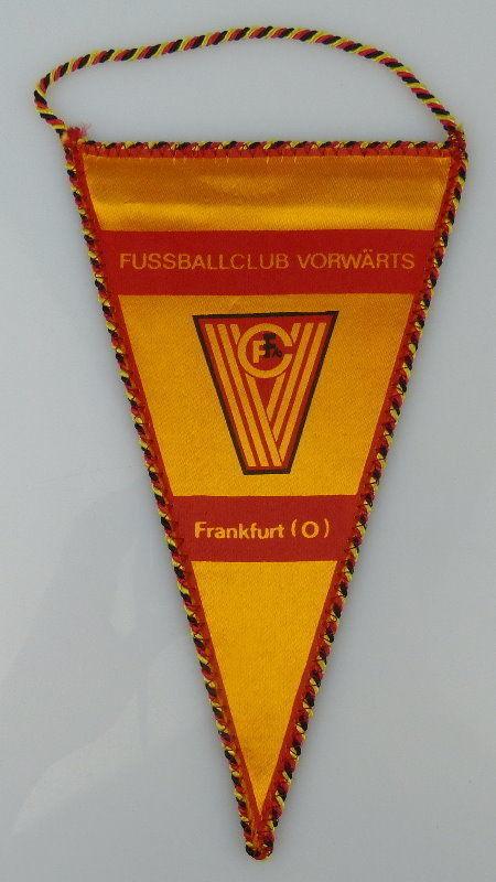 Wimpel: Fussballclub Vorwärts Frankfurt Oder FFO, Fussballmeister der, Orden2158