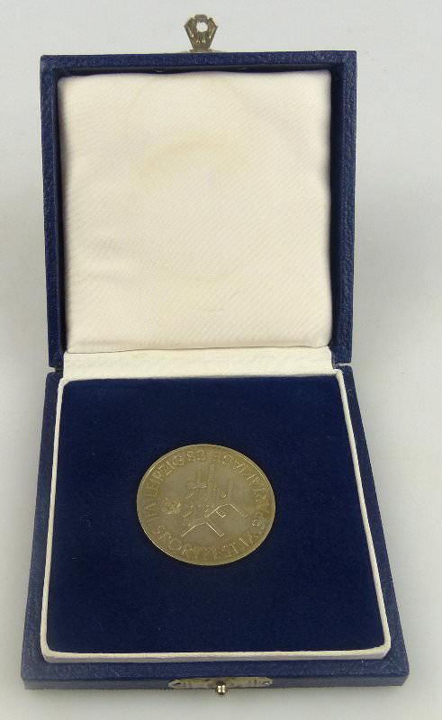 Medaille im Etui: Dt. Turn- und Sportbund der DDR, Orden973