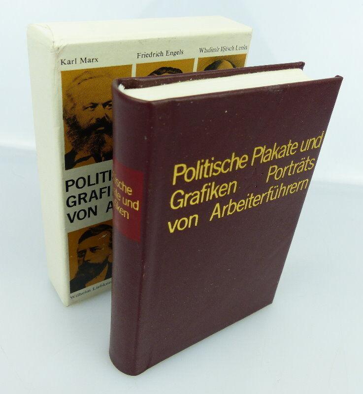 Minibuch: Politische Plakate und Grafiken Porträts von Arbeiterführern bu0911