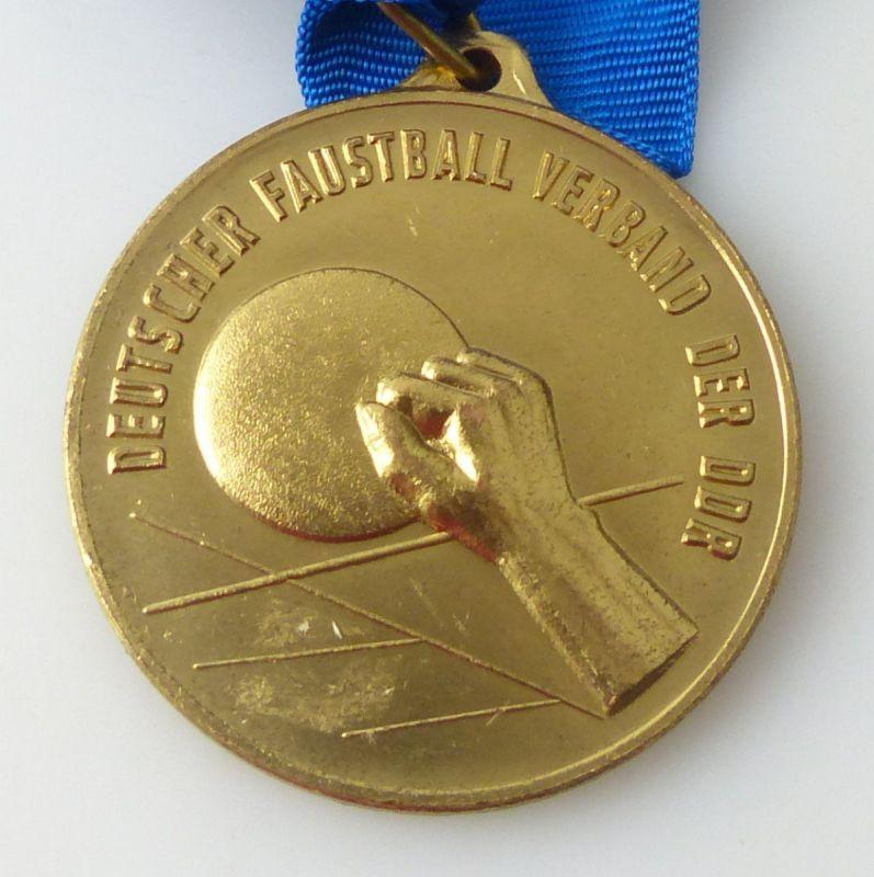 Medaille : Deutscher Faustball Verband der DDR , Bestenermittlung / r307
