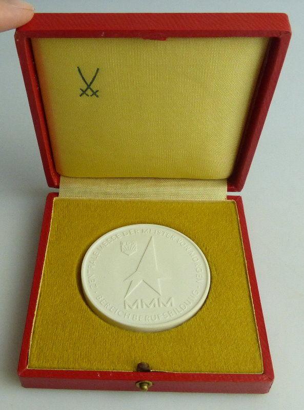 Meissen Medaille: FDJ MMM Bereich Berufsbildung Zentrale Messe der Me, Orden1769