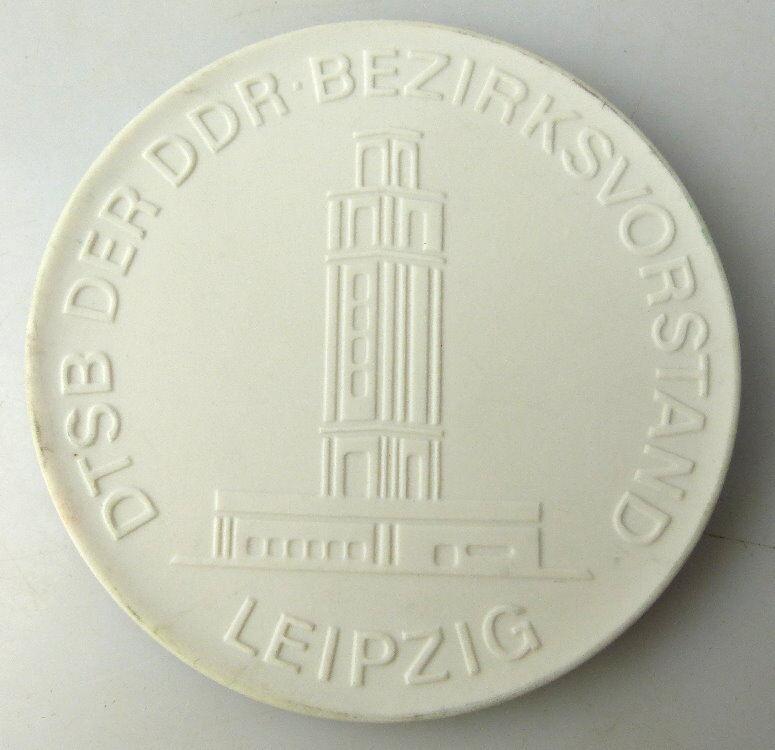 Meissen Medaille: DTSB der DDR Bezirksvorstand Leipzig, Für langjähri, Orden1732