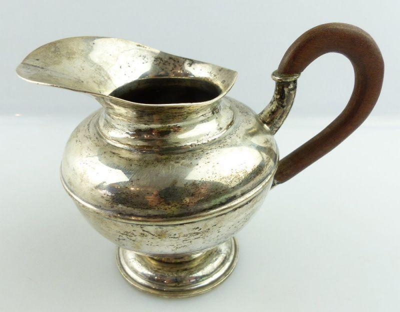 Schönes altes Gründerzeit Sahnekännchen 13 Lot / 812,5 (Ag) Silber, e1396