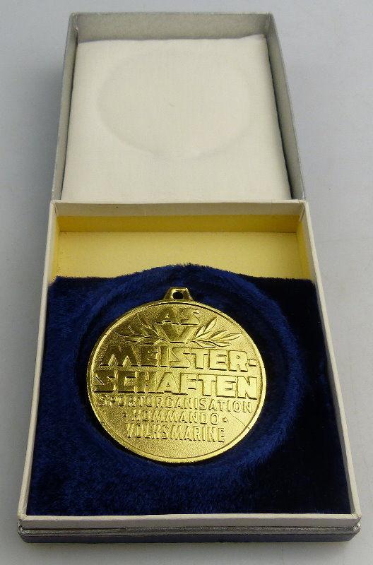 Medaille: ASV Meisterschaften Sportorganisation Kommando Volksmarine, Orden1715