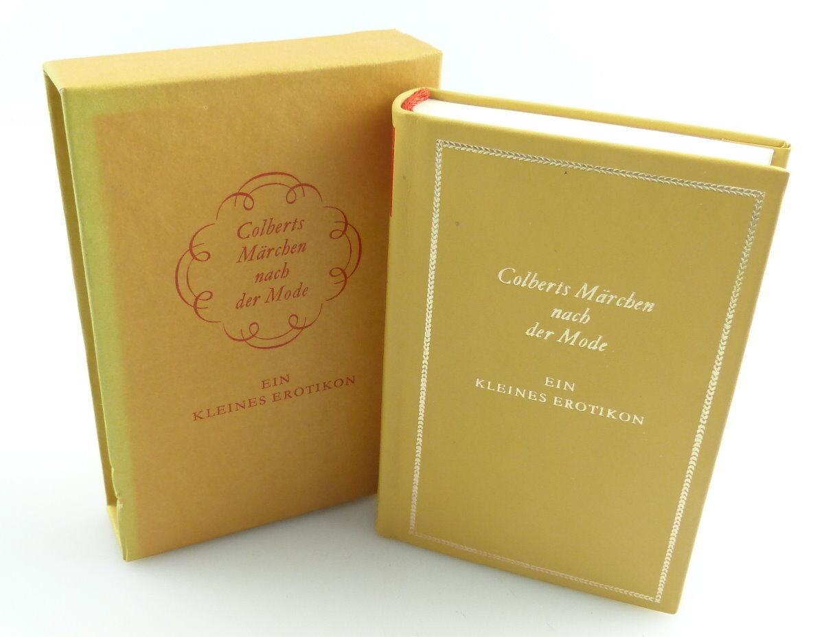 Minibuch : Ein kleines Erotikon Colberts Märchen Hinstroff Verlag Rostock /r661 0