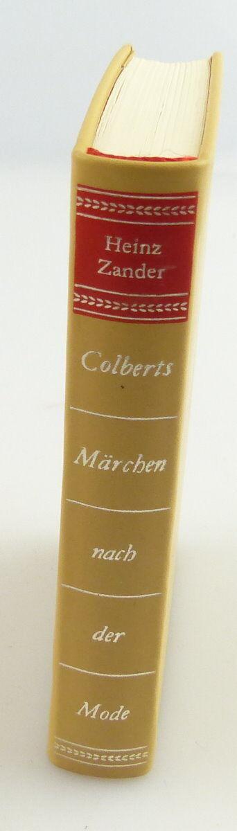 Minibuch : Ein kleines Erotikon Colberts Märchen Hinstroff Verlag Rostock /r661 1