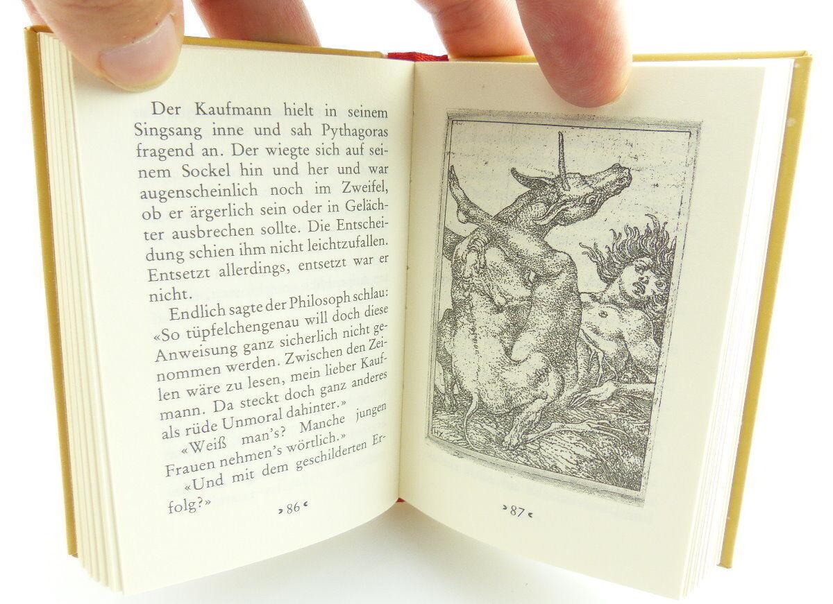 Minibuch : Ein kleines Erotikon Colberts Märchen Hinstroff Verlag Rostock /r661 3