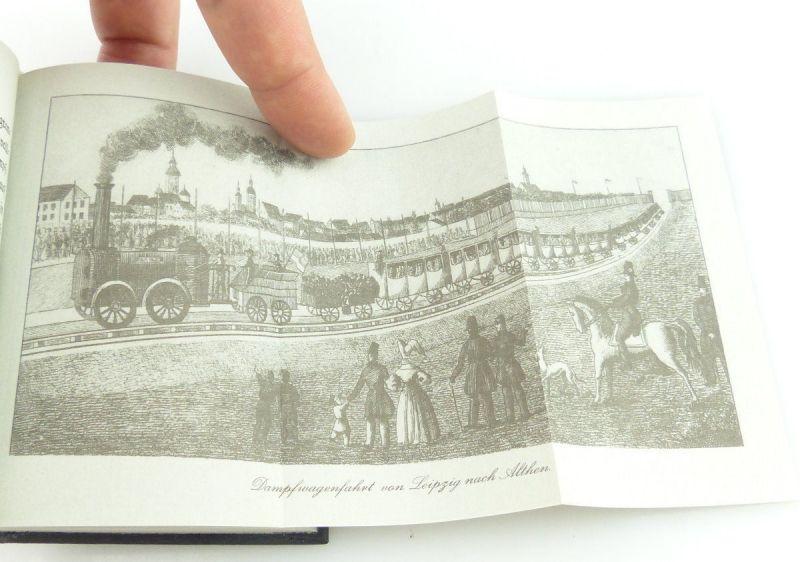 Minibuch : Die Eröffnung der Leizig Dresdner Eisenbahn VEB Verlag Verkehsw./r662 3