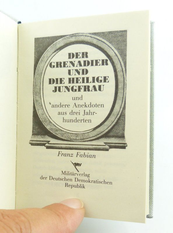 Minibuch : Der Grendier und die Heilige Frau, Militärverlag der DDR 1986 /r657 2