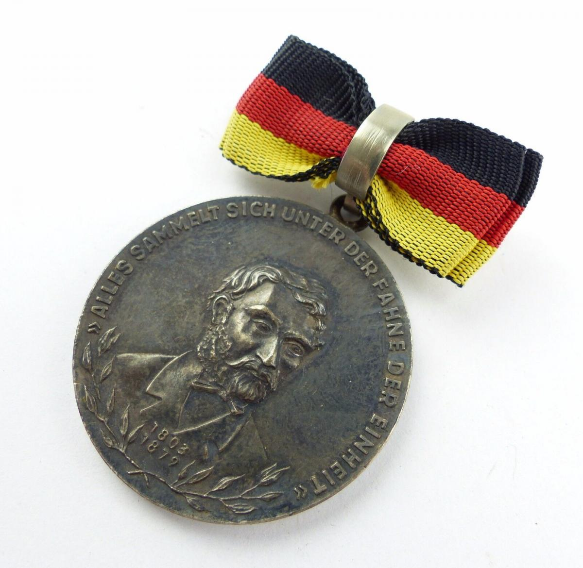 #e7761 Carl-Friedrich-Wilhelm-Wander-Medaille Silber 900 vgl. Nr. 130 (1954-55) 0