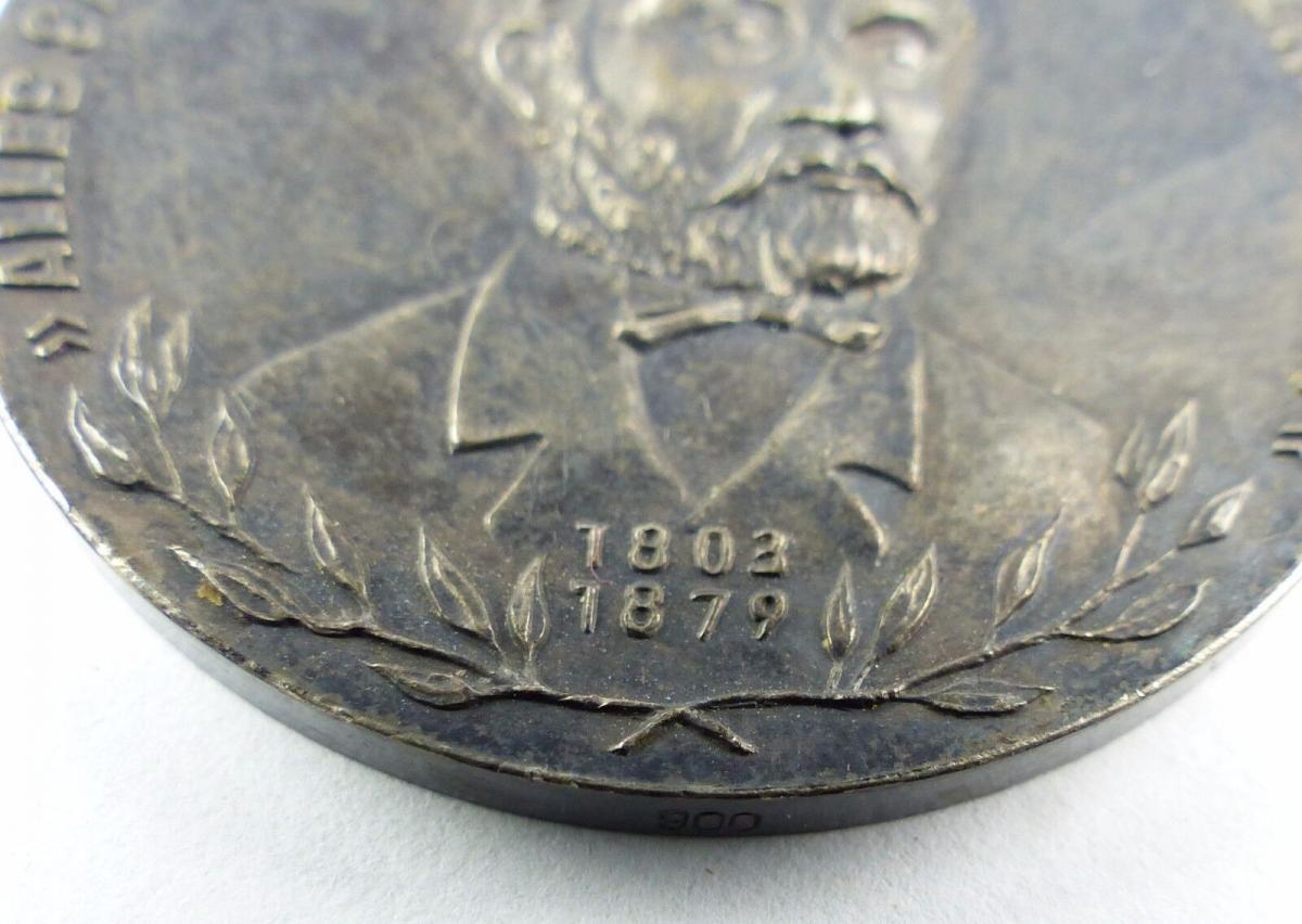 #e7761 Carl-Friedrich-Wilhelm-Wander-Medaille Silber 900 vgl. Nr. 130 (1954-55) 1