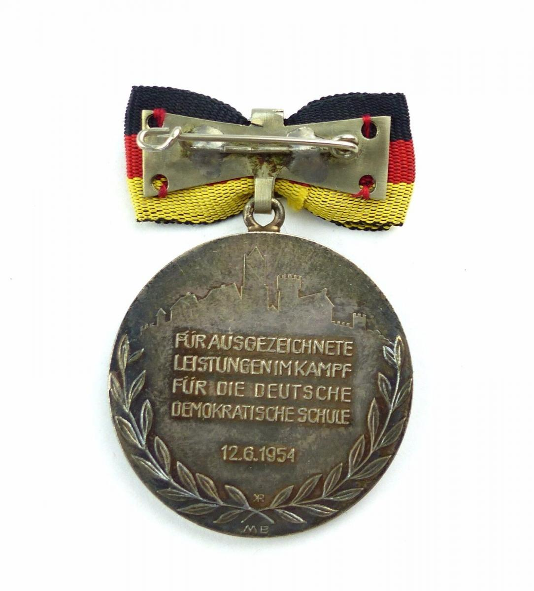 #e7761 Carl-Friedrich-Wilhelm-Wander-Medaille Silber 900 vgl. Nr. 130 (1954-55) 3