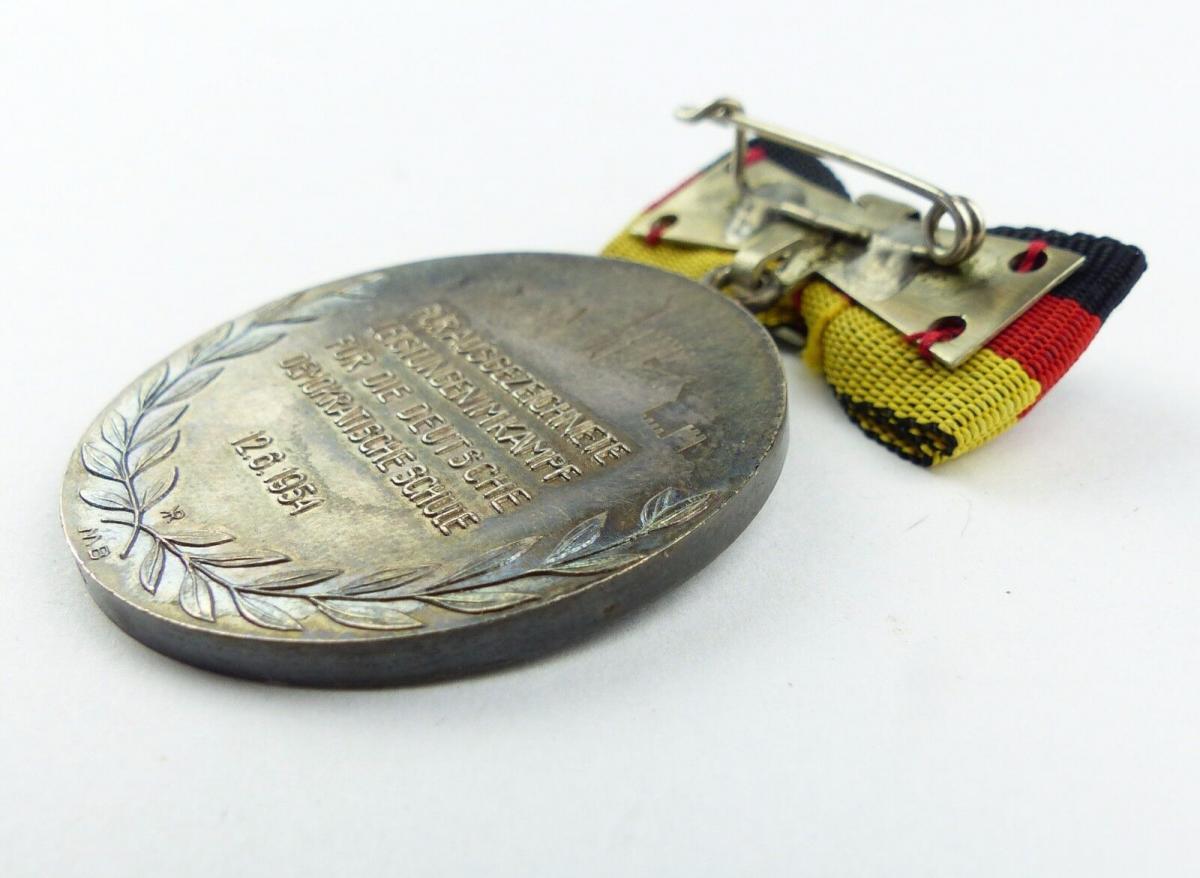 #e7761 Carl-Friedrich-Wilhelm-Wander-Medaille Silber 900 vgl. Nr. 130 (1954-55) 5
