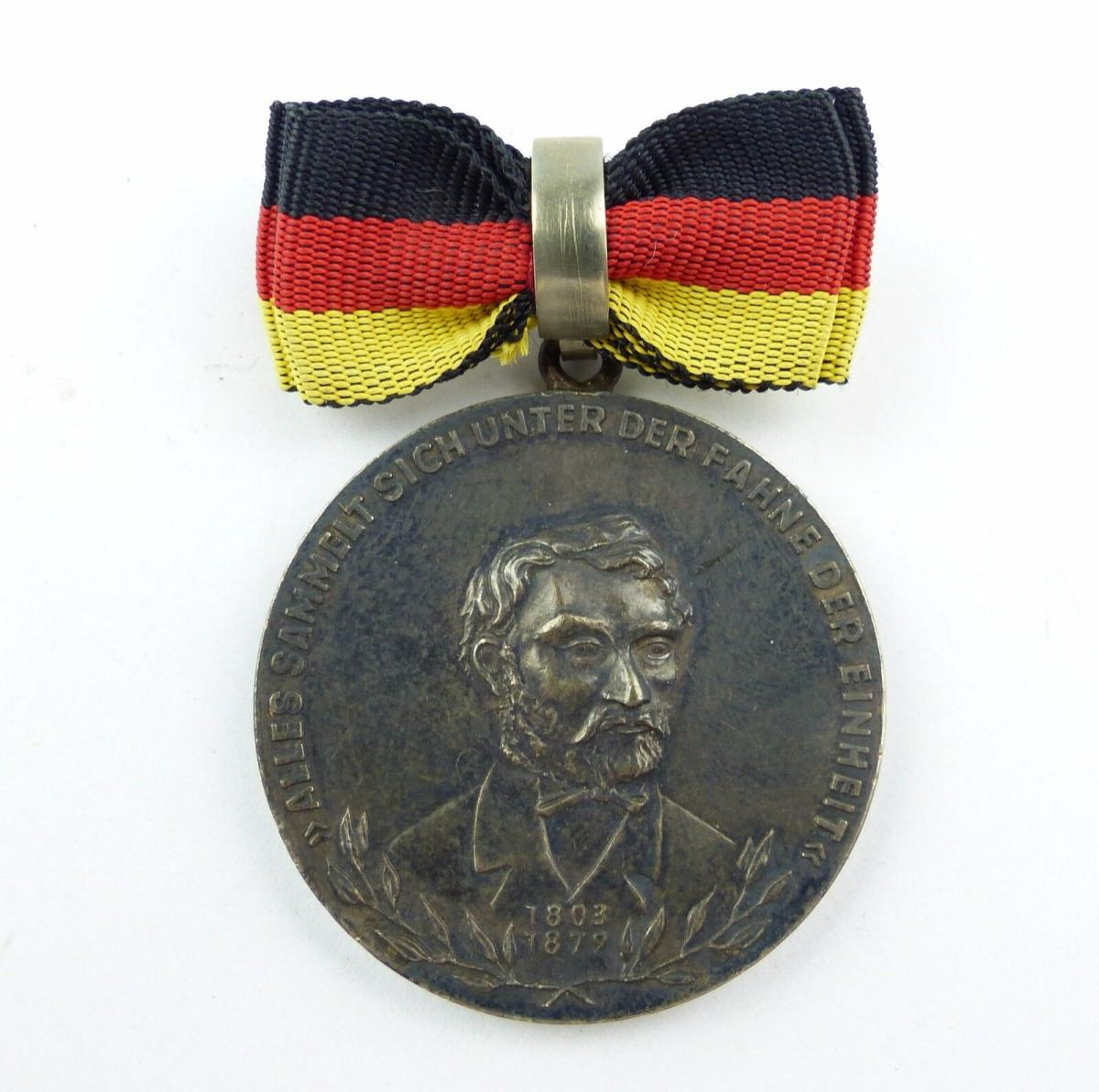 #e7761 Carl-Friedrich-Wilhelm-Wander-Medaille Silber 900 vgl. Nr. 130 (1954-55) 8