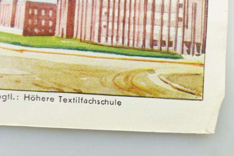 E9591 Shell Stadtkarte Nummer 59 Zwickau DRGM 4