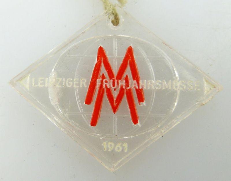 Abzeichen Leipziger Frühjahrsmesse 1961 Orden1038 0