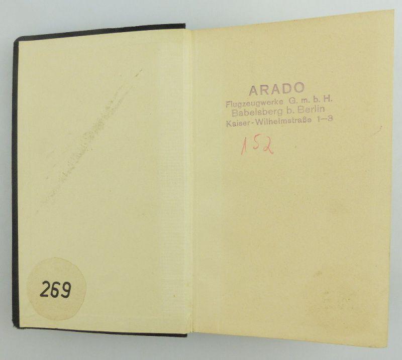 Buch: original altes Buch von 1936 LPW Taschenbuch für Galvanotechnik e853 5
