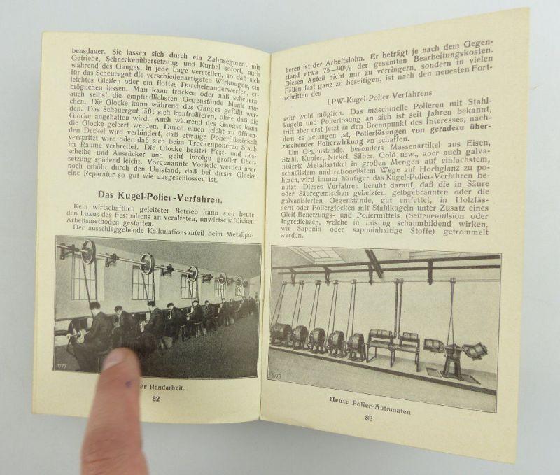 Buch: original altes Buch von 1936 LPW Taschenbuch für Galvanotechnik e853 8