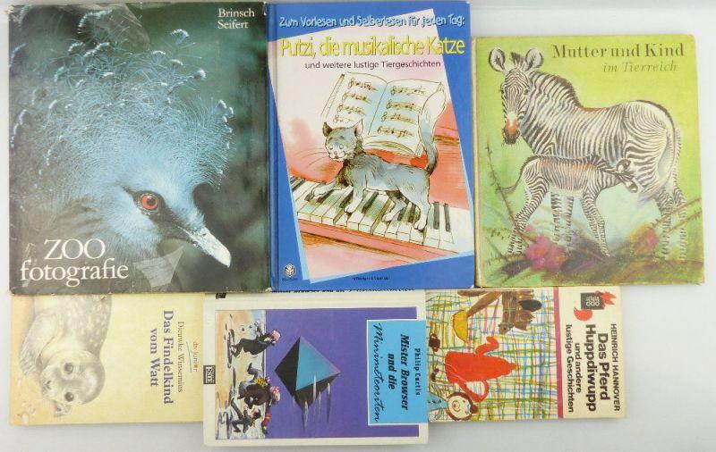 7 Kinderbücher: Mutter und Kind Tierreich, Findelkind vom Watt, Huppdiwupp e848 0