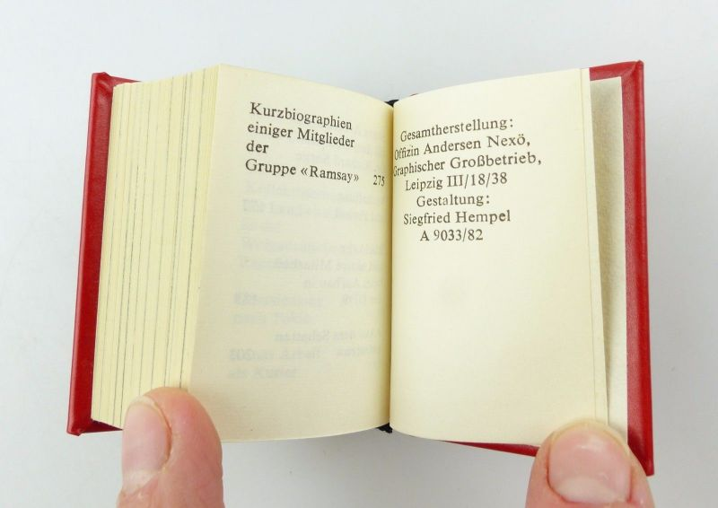 #e5434 Minibuch: Max Chrisiansen Clausen Der Funker Dr. Richard Sorges 7