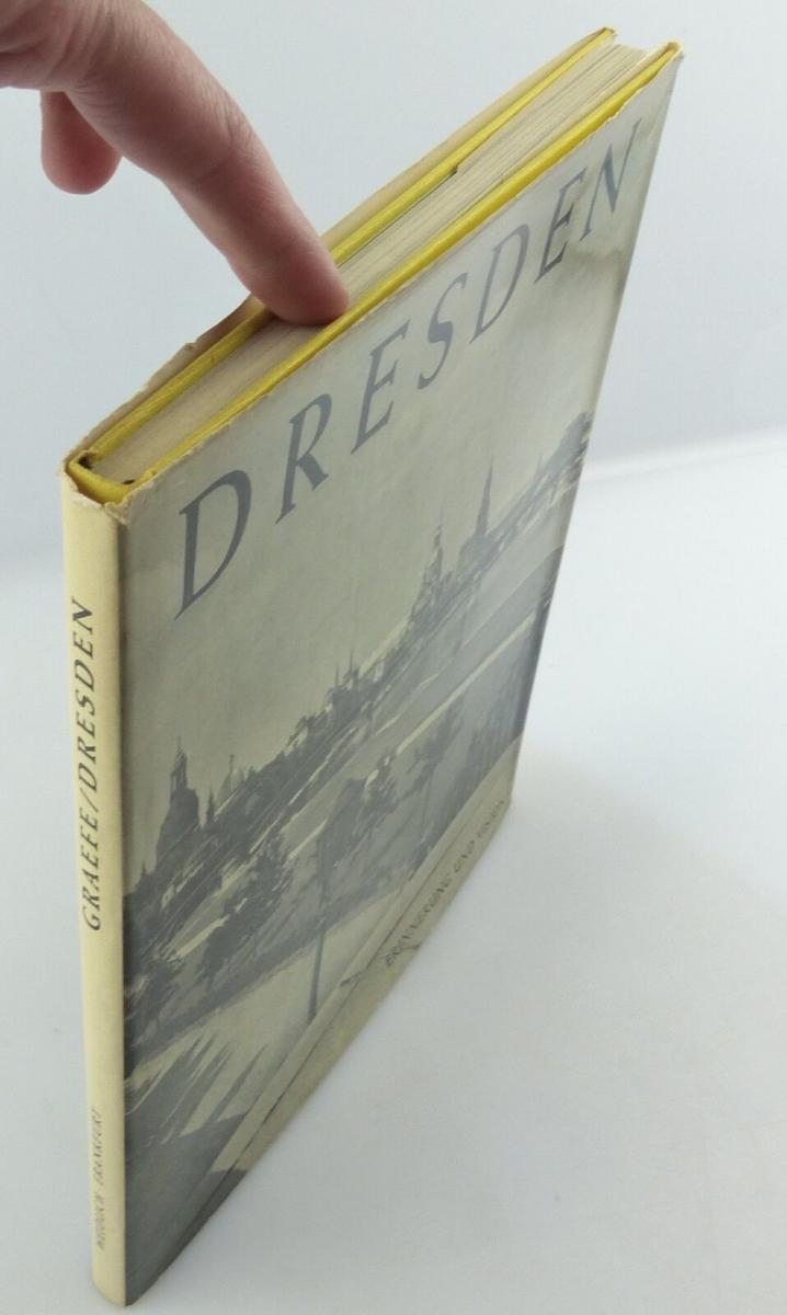 #e8654 Buch Dresden - Vision & Erinnerung mit 90 Abbildungen von 1965 2