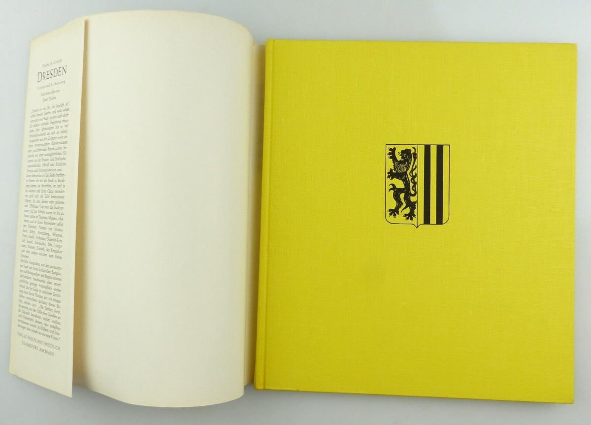 #e8654 Buch Dresden - Vision & Erinnerung mit 90 Abbildungen von 1965 3