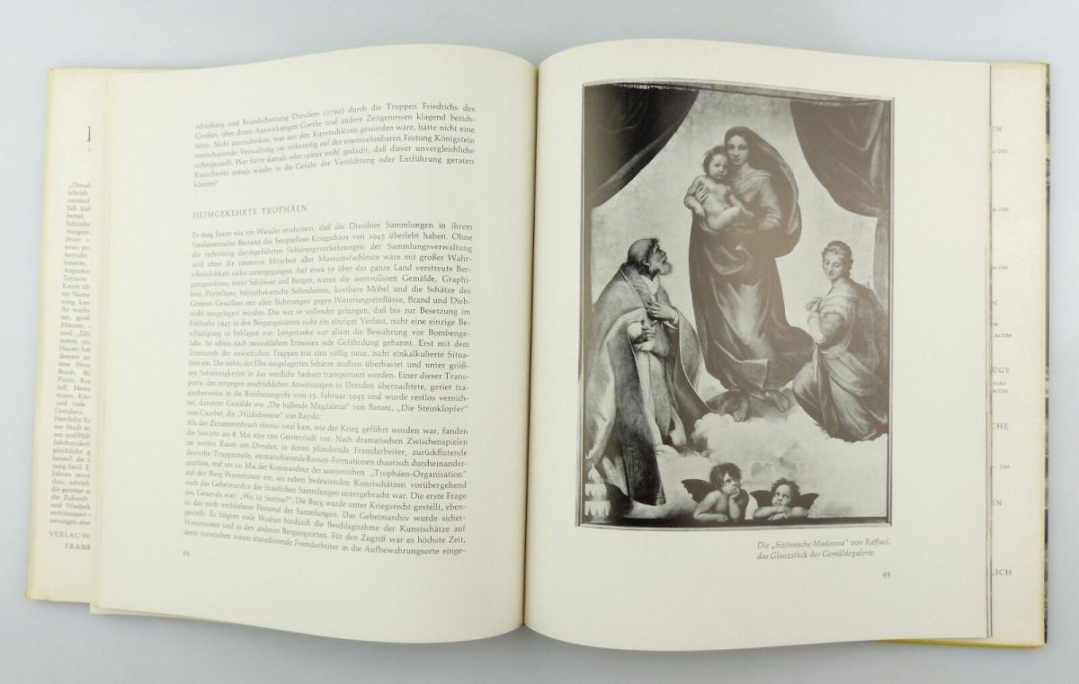 #e8654 Buch Dresden - Vision & Erinnerung mit 90 Abbildungen von 1965 6